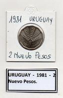 Uruguay - 1981 - 2 Nuovi Pesos - Vedi Foto - (MW354) - Uruguay