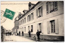 MONTFORT Sur RISLE  Gendarmerie  Nationale  édition Douté - France