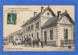 04 ALPES DE HAUTE PROVENCE - DIGNE Gare Du Chemin De Fer Du Sud, Diligences D'hôtel (voir Descriptif) - Digne