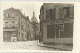 FOTOCARTOLINA PARIS BOULANGERIE L. CHAUCESSE - LE CONSULAT (128) - Negozi
