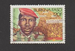 Burkina Faso Année 1984 Timbre 639B Oblitéré - Burkina Faso (1984-...)