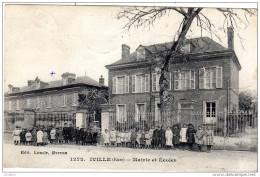 IVILLE  Mairie Et Ecoles   Edit Loncle Evreux - Francia