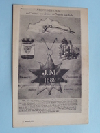 MOUSTIERS Sa Chaine, Ses Armes, Sa Chapelle, Son Etoile ( A. Achard ) Anno 19?? ( Voir Photo ) J.M. 1882 ! - Digne