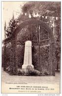 LE GUÉ DE LA CHAINE  Monument Aux Morts De La Guerre 1914 1918 Inauguré Le 28 Septembre 1924 Bourgneuf Phot édit Belleme - Autres Communes