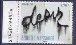 5202 Annette Messager - Désir BDF (2018) Neuf** - France