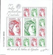 """France 2017 - Bloc- Feuillet  """"40 Ans De La Sabine De Gandon""""  ** (daté 10.10.17) - Unused Stamps"""