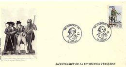 France 1989 - Y&T 2592 - Enveloppe 1er Jour - Condorcet 1743-1794 - Citoyen Arrêté à Cause De Son Habit Vert - France