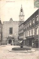 FR66 PERPIGNAN - Labouche 1 - La Place Gambetta Et Cathédrale Saint Jean - Diligence - Animée - Perpignan