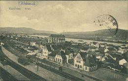 AK Konz Karthaus, Total Mit Bahnhof, Eisenbahn, Bahnstrecke, Ca. 1910er Jahre (29426) - Deutschland