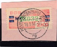 DDR, Dienst: ZKD Nr.27-W Gest. (T 2930) - [6] République Démocratique