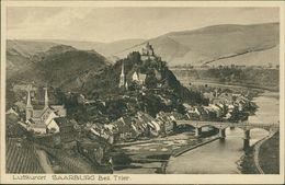AK Saarburg, Gesamtansicht, Ca. 1920er Jahre (29429) - Saarburg