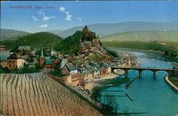 AK Saarburg, Gesamtansicht, O 1911 (29433) - Saarburg