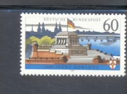 Bund 1583 X  ** 200 Jahre Koblenz  Postfrisch - [7] République Fédérale