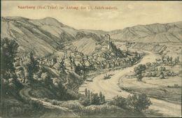 AK Saarburg, Im Anfang Des 18. Jahrhunderts, Um 1907 (29438) - Saarburg