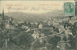 AK Saarburg, Oberstadt, Blick Von Der Burg, O 1910 (29439) - Saarburg