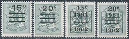 Belgie 1960. Michel #1231/32+1231/32V MNH/Luxe. (B-24) - Nuevos