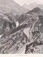 1900 - Iconographie - Barcelonnette (Alpes-de-Haute-Provence) - La Route Vers Prunières - FRANCO DE PORT - Non Classificati