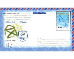 Ref. 214054 * MNH * - AZERBAIJAN. 2008. EUROPA CEPT. 2008 LETTERS . EUROPA CEPT 2008 CARTAS - Non Classificati