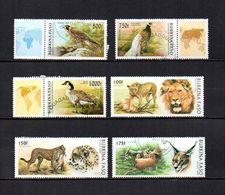 Burkina  Faso  1996  .-  Y&T  Nº   975/977-999/1001 - Burkina Faso (1984-...)