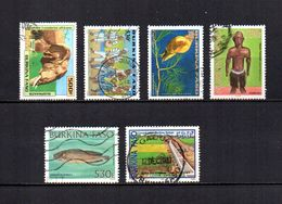 Burkina  Faso  2000-2003  .-  Y&T  Nº   1238-1243-1245-1269-1275-1298 - Burkina Faso (1984-...)