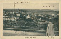 AK Saarburg Beurig, Gesamtansicht, Um 1923 (29447) - Saarburg