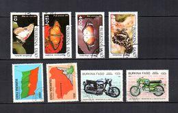 Burkina  Faso  1984-85  .-  Y&T  Nº   272/275-278-280-290/291     Aéreos - Burkina Faso (1984-...)