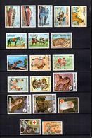 Burkina  Faso  1985  .-  Y&T  Nº   294/296-298/301-302/303-305/307-311-313/315-317/318-321     Aéreos - Burkina Faso (1984-...)