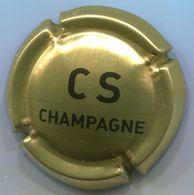 CAPSULE-CHAMPAGNE COMTE DE SENNEVAL N°01 Or Et Noir - Champagnerdeckel