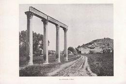 1900 - Iconographie - Riez (Alpes-de-Haute-Provence) - La Colonnade - FRANCO DE PORT - Unclassified