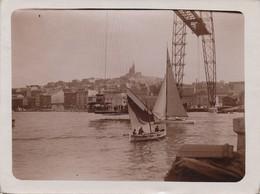 656 - 2 Photos - Port De Marseille Et Port D'Alicante (Espagne) - Lieux