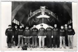 BARFLEUR  L'équipage Du Canot De Sauvetage Photo LEMONNIER Barfleur - Barfleur