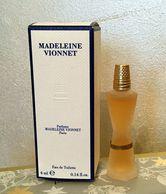 """Miniature """"MADELEINE VIONNET   EDT 4 Ml Dans Sa Boite - Miniatures Modernes (à Partir De 1961)"""