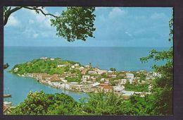 "CPSM WEST INDIES - GRENADA - GRENADE - ST. GEORGE'S - The "" Spice Island "" Picturesque Capital - Jolie Vue Habitations - Grenada"