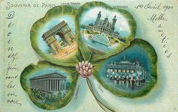 PARIS - Souvenir De Paris ,Multivues ,monuments De La Ville. - Notre Dame De Paris