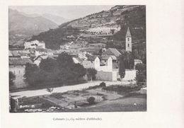 1900 - Iconographie - Colmars (Alpes-de-Haute-Provence) - Vue Générale - FRANCO DE PORT - Zonder Classificatie