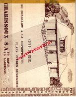 19- BRIVE- LAGUENNE- RARE CATALOGUE CHARISSOUX- RUE JEAN JAURES-2 PLACE EGLISE- BUNGALOW MAISON PLANS ETUDES - Documents Historiques