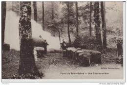 Forêt De St Saëns-Une Charbonnière.Edit.Dubers.Lamy. - Saint Saens
