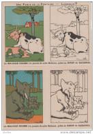 LOT 14 IMAGES: Les Fables De La Fontaine.Publicité Sirop De Gaïarsol. Illustrateur Benjamin Rabier.14. - Vieux Papiers