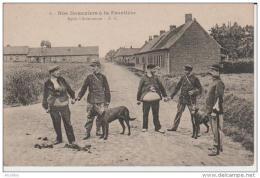 6. Nos Douaniers à La Frontière.Après L'Arrestation.-EC. - Dogana