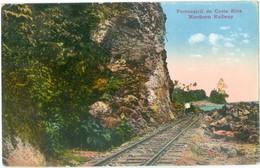 1923 Costa Rica Ferrocarril De Costa Rica Northern Railway Pc Used To UK Coffee Publicity O/print - Costa Rica