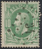 """émission 1869 - N°30 Obl Pt 34 """"Beeringen"""". Superbe - 1869-1883 Léopold II"""