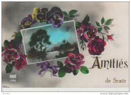 """""""""""Amitiés De Scaër"""""""".ABC.1889. - Francia"""