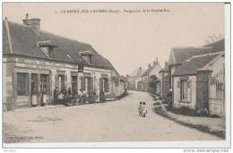 7.Le Mesnil Sur L'Estrée-Perspective De La Grande Rue. - France