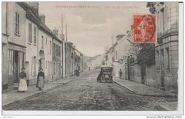 Bonnières Sur Seine-Une Vue Sur La Grande Rue. - Bonnieres Sur Seine