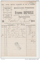 Carcassonne.Etienne Depaule. Quincaillerie, Ferronnerie. - Petits Métiers