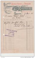 Ed Roudière: Fournitures Générales Pour La Photographie. Gravures. Registres. Carcassonne. - Imprimerie & Papeterie