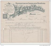 Manufacture De Carrelages Mosaïques Jean Fornac. Bram (Aude). - France