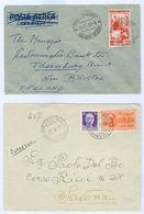Italy Cover/card Lot(8 Items) Ambulant,Express 1894-1950s. Inc Asti-Mortara 1894 Tpo++ - Lotti E Collezioni