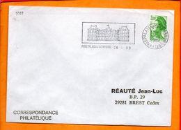 PARIS, Paris Palais Du Luxembourg, Flamme SCOTEM N° 9399 - Storia Postale