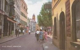 GIBRALTAR - Main Street (Rue Principale) - Carte Animée - - Gibilterra